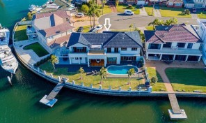 Luxury waterfront property!